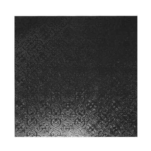 Black Square 6mm Masonite Board