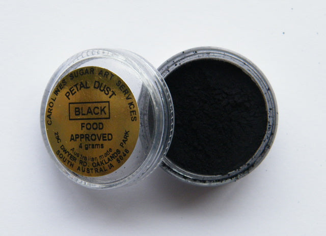 Carolines Petal Dust - Black - 4gm