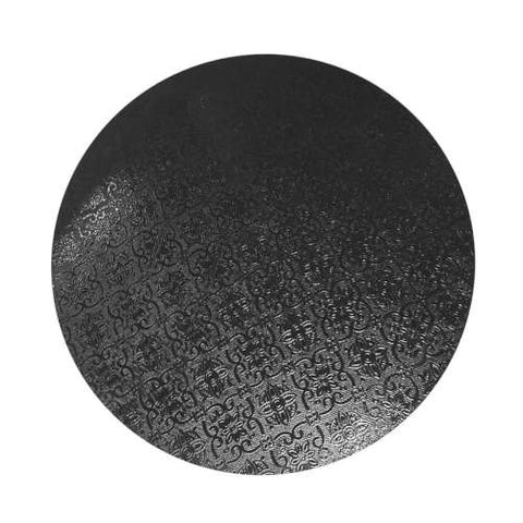 Black Round 6mm Masonite Board