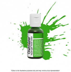 Chefmaster Liqua-Gel - Leaf Green - 20gm