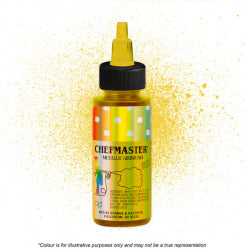 Chefmaster Airbrush Colour - Metallic Gold - 57gm