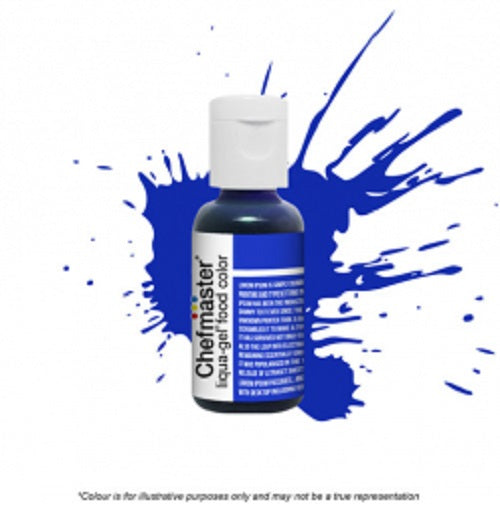 Chefmaster Liqua-Gel - Royal Blue - 20gm