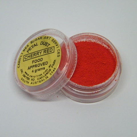 Carolines Petal Dust - Cherry Red - 4gm