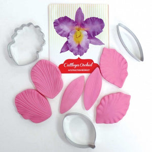 Cutter and Veiner Set - Cattleya Orchid