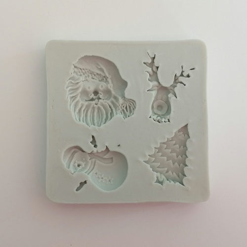 Silicone Mould - Christmas (4)