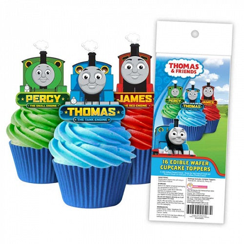 Wafer Cupcake Toppers - Thomas the Tank Engine (16)