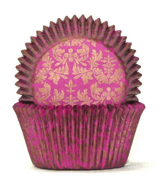 700 Baking Cups - High Tea Gold/Pink (pack of 100)
