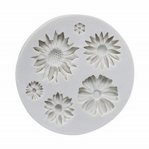 Silicone Mould - Daisies (6)