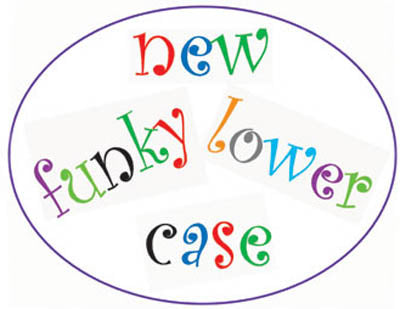 FMM Alphabet Cutter Set - Funky Lower Case