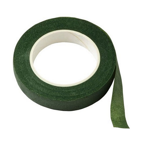 Floral Tape - Dark Green - 12mm x 27m