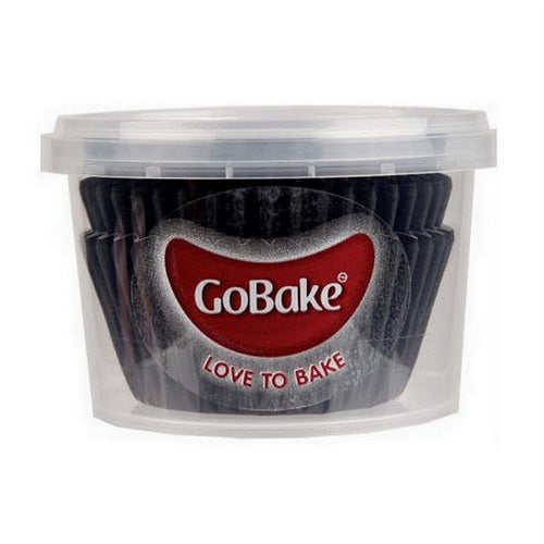 GoBake Baking Cups - Black (pack of 72)