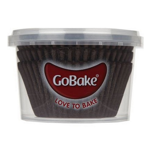 GoBake Baking Cups - Brown (pack of 72)
