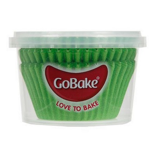 GoBake Baking Cups - Green (pack of 72)