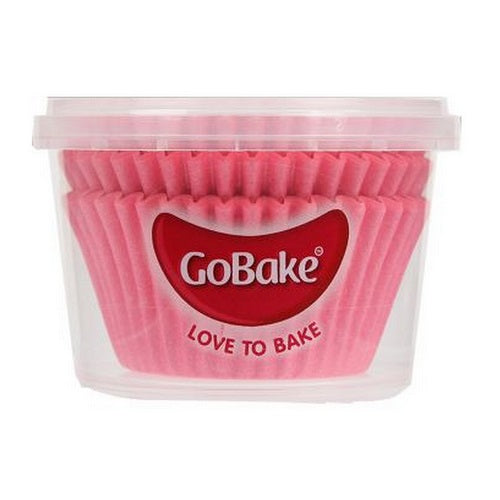 GoBake Baking Cups - Pink (pack of 72)