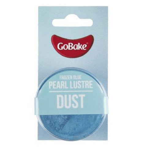 GoBake Pearl Lustre Dust - Frozen Blue - 2gm
