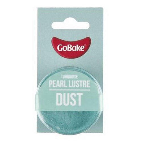 GoBake Pearl Lustre Dust - Turquoise - 2gm
