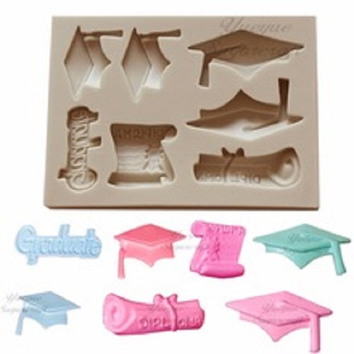 Silicone Mould - Graduation (7)