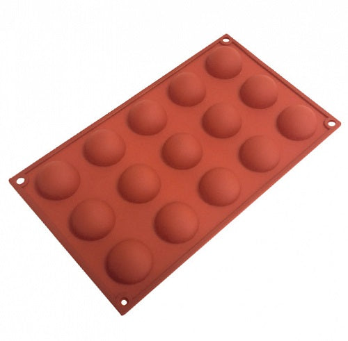 Hemisphere Silicone Mould - 15 cup