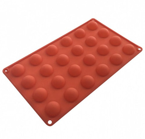 Hemisphere Silicone Mould - 24 cup