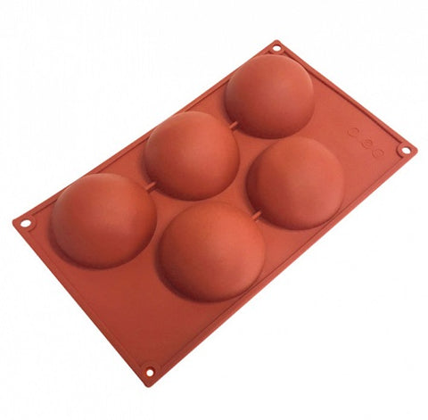 Hemisphere Silicone Mould - 5 cup