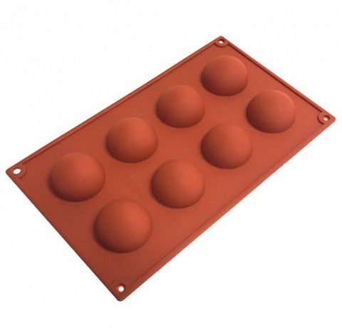 Hemisphere Silicone Mould - 8 cup