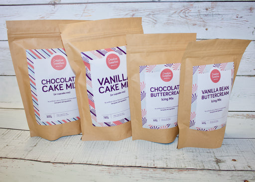 Creative Sweeties Baking Mix & Buttercream Mix Set
