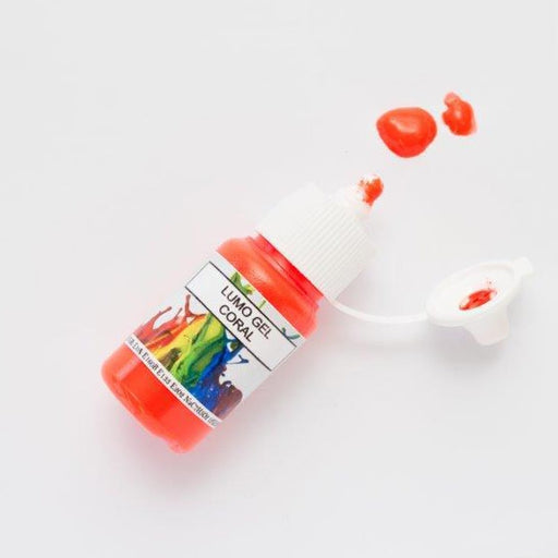 Rolkem Gel Lumo Paint - Coral - 15ml