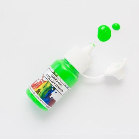 Rolkem Gel Lumo Paint - Stellar Green - 15ml