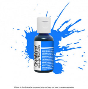 Chefmaster Liqua-Gel - Neon Bright Blue - 20gm