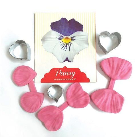 Cutter and Veiner Set - Pansy