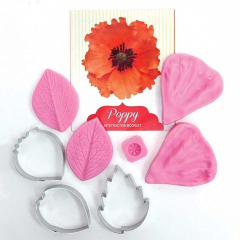 Poppy Cutter and Veiner Set