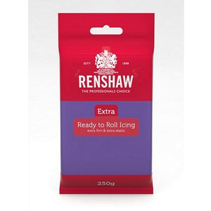 Renshaw Icing Extra - Purple - 250gm