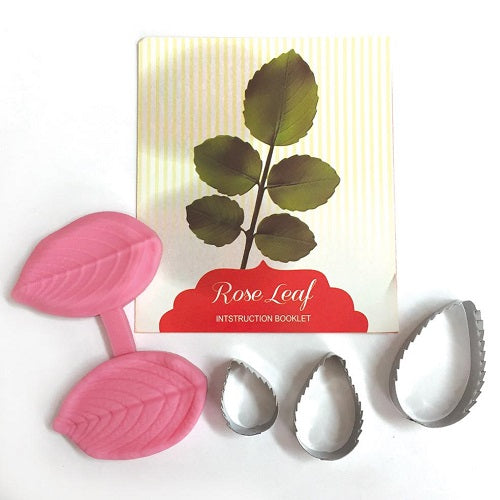 Cutter and Veiner Set - Rose Leaf