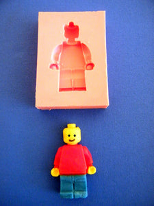 Silicone Mould - Lego Man