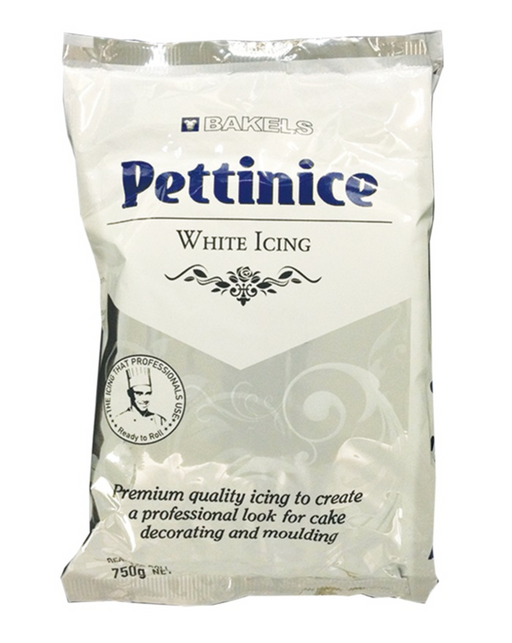 Bakels Pettinice - White - 750 gm