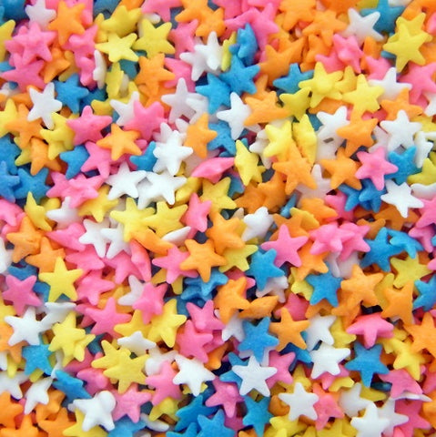 Sprinkle Shapes - Bright Stars 50gm