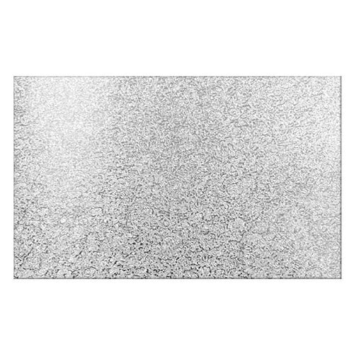 Silver Rectangle 6mm Masonite Board