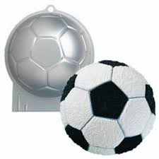 HIRE - Soccer Ball Cake Tin