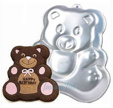 HIRE - Teddy Bear Cake Tin