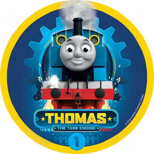 Round Edible Image - Thomas the Tank Engine (16cm)