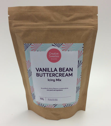 Creative Sweeties Vanilla Bean Buttercream Mix