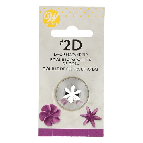 Wilton #2D Drop Flower Tip