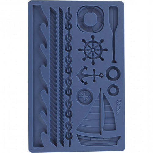HIRE - Wilton Nautical Silicone Mould