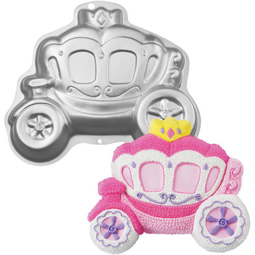 HIRE - Princess Carriage Cake Tin