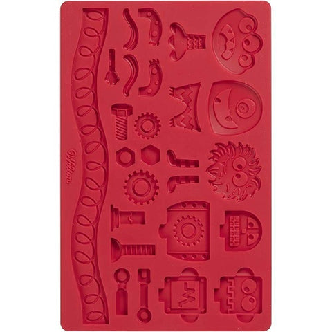 Wilton Robots and Monsters - Silicone Mould Hire