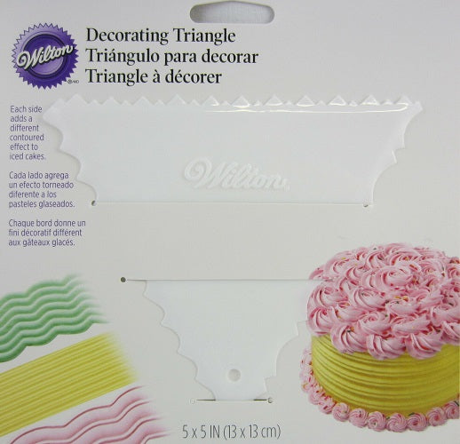 Wilton Triangle Decorating Comb
