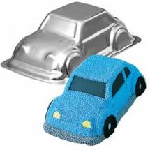HIRE - Car Cake Tin