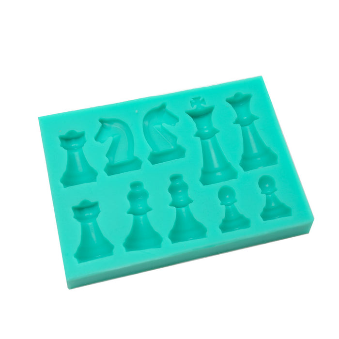 Silicone Mould - Chess Pieces