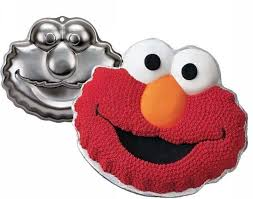HIRE - Elmo Cake Tin