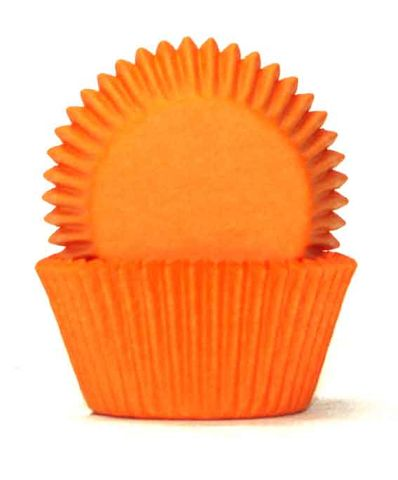 408 Cupcake Papers - Orange (100 approx)